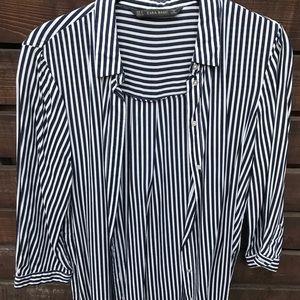 Zara Striped Blouse
